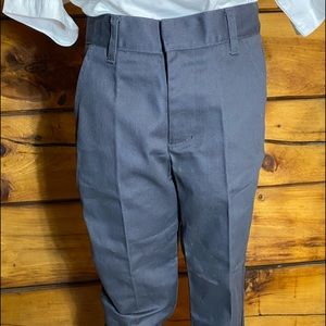 FRENCH TOAST BOYS RELAXED DBL KNEE UNIFORM PANTS